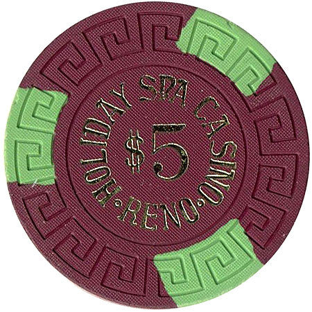 Holiday Spa Casino $5 chip