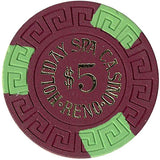 Holiday Spa Casino $5 chip - Spinettis Gaming - 1