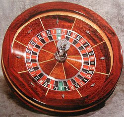 Professional Solid Mahogany Roulette Wheel - Spinettis Gaming - 2