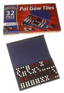 Pai Gow Tile Set Boxed NEW - Spinettis Gaming