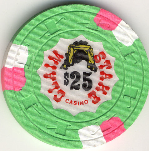 Claim Stake $25 (green 1979) Chip