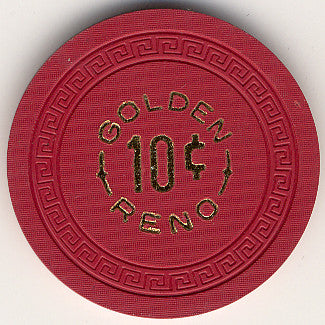 Golden, Reno 10 chip - Spinettis Gaming - 1