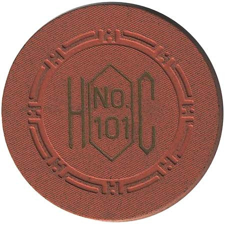 Harolds Club No. 101 chip Dark Pink - Spinettis Gaming