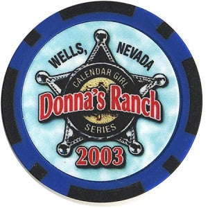 Brothel Donna's Ranch Chip - Spinettis Gaming - 1