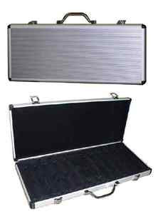 500 Chip Expandable Aluminum Case (600+) - Spinettis Gaming