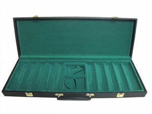 500 Chip Black Vinyl Carrying Case - Spinettis Gaming - 1