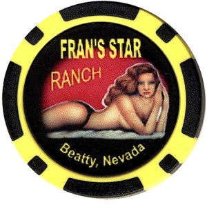 Brothel Fran's Star Ranch Chip