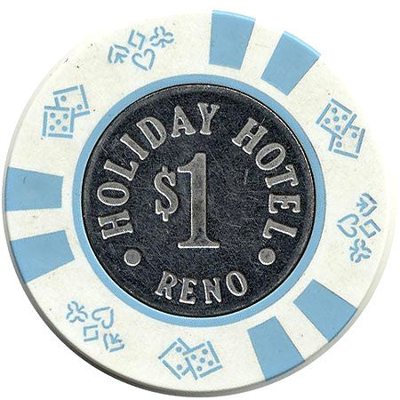 Holiday Hotel $1 (white) chip