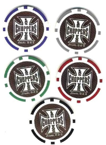 Las Vegas Choppers Poker Chip - Spinettis Gaming