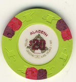 Aladdin Casino $20 Baccarat (1989) Chip - Spinettis Gaming - 1