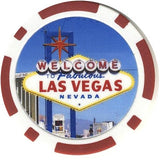 Las Vegas Sign Fantasy Chip - Spinettis Gaming - 1