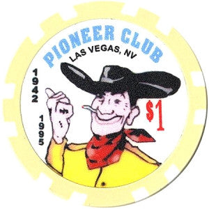 Pioneer Club $1 Chip - Spinettis Gaming - 1