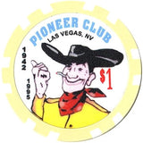 Pioneer Club $1 Chip - Spinettis Gaming - 2