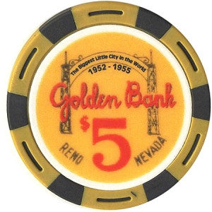 Fantasy Golden Bank $5 Chip