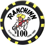 Ranch Inn $100 Chip - Spinettis Gaming - 1