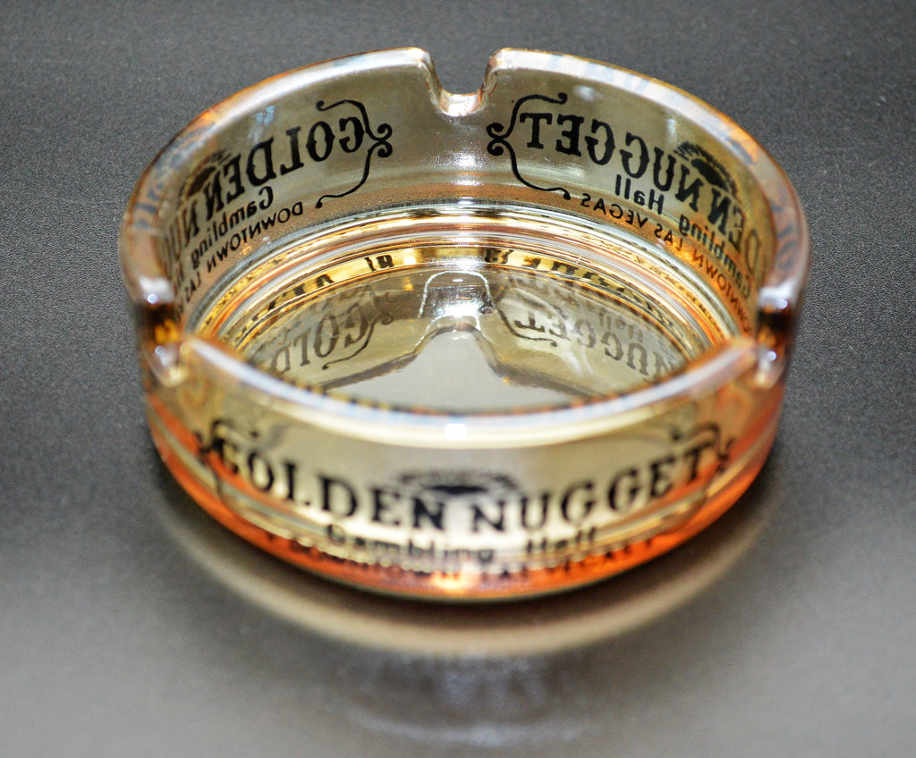 Golden Nugget Casino Ashtray Las Vegas Nevada