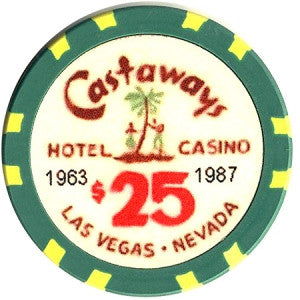 Fantasy Castaways $25 Chip