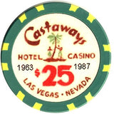 Castaways $25 Chip - Spinettis Gaming - 1