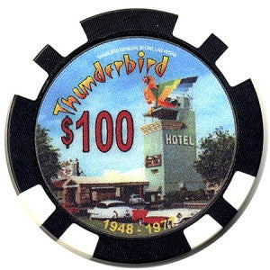 Thunderbird $100 Commemorative Fantasy Chip - Spinettis Gaming