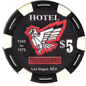 Thunderbird $5 Commemorative Fantasy Chip - Spinettis Gaming