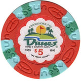 Dunes Commemorative Chips Collector set 10 chips - Spinettis Gaming - 2