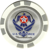 Thunderbirds Air Force Collector Set 5 Chips - Spinettis Gaming - 3