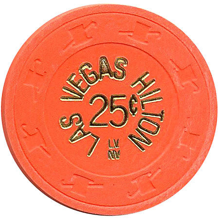 Las Vegas Hilton Casino 25 Cent Chip 1980s