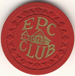 EPC Club Casino Gardena California 25 Cent Chip