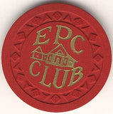 EPC Club (red) chip - Spinettis Gaming - 2