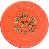 Las Vegas Hilton 25cent chip - Spinettis Gaming