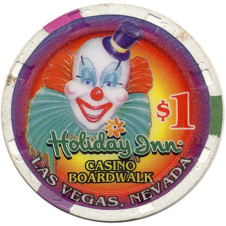 Holiday Inn Casino Boardwalk $1 chip - Spinettis Gaming - 1