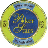 Poker Stars Caribean Adventure Collector Set 7 Chips - Spinettis Gaming - 3