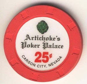 Artichoke Joe Casinos Poker Palace 25 Chip