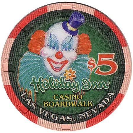 Holiday Inn Casino Boardwalk $5 chip