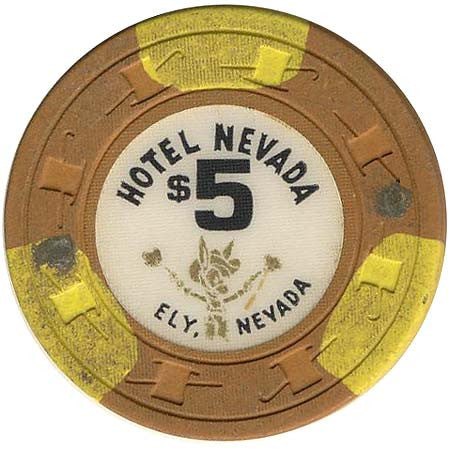 Hotel Nevada $5 (orange) chip