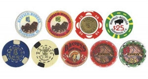 Deadwood South Dakota Collector Set 9 Chips