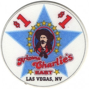 Arizona Charlies Casino, East Las Vegas NV $1 Casino Chip - Spinettis Gaming - 1
