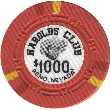 Harolds Club $1000 chip