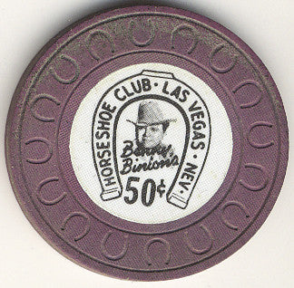 HorseShoe Club 50cent (purple) chip