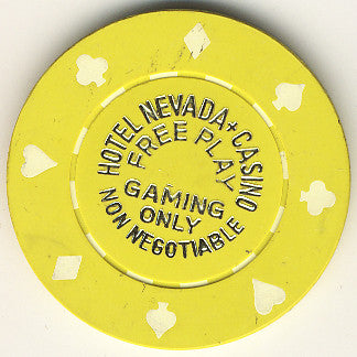 Hotel Nevada + Casino Free Play (non-negotiable) chip