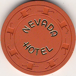 Hotel Nevada Casino Ely NV 10 Cent Chip 1950s