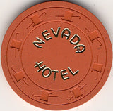 Hotel Nevada 10 (orange) chip - Spinettis Gaming - 1