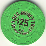 Mapes Money Tree $25 (bright-green) chip - Spinettis Gaming - 1
