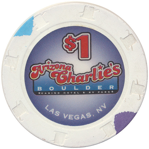 Arizona Charlie's (Boulder) Las Vegas, NV $1 Casino Chip