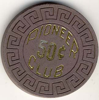 Pioneer Club 50cent chip - Spinettis Gaming
