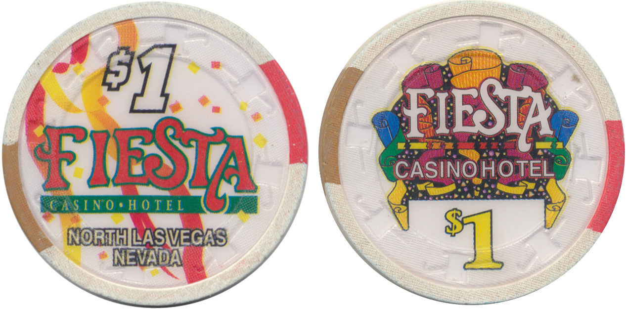 Fiesta North Las Vegas, NV (Paulson) $1 Casino Chip - Spinettis Gaming - 1