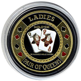 Card Guard Ladies (Pair Of Queens) Card Guard - Spinettis Gaming - 2