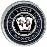 Card Guard Ladies (Pair Of Queens) Card Guard - Spinettis Gaming - 3