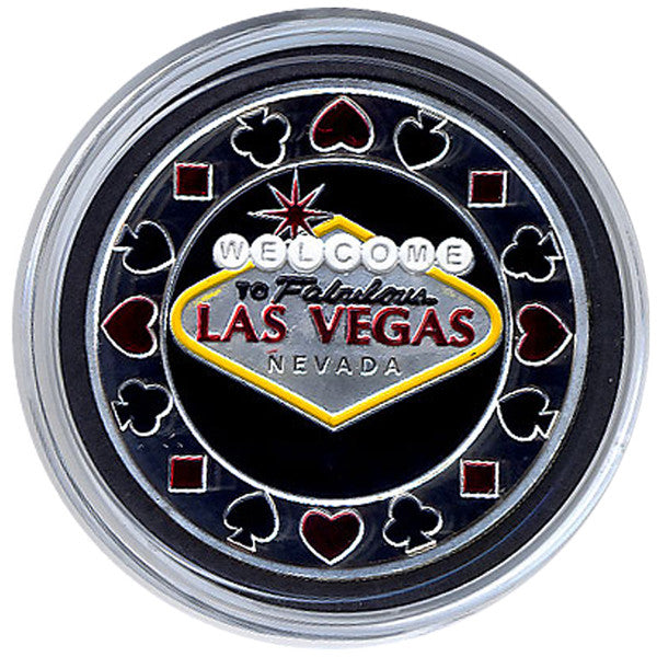 Card Guard Welcome To Las Vegas Card Guard - Spinettis Gaming - 3