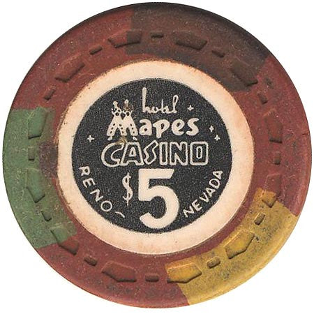 Mapes Casino $5 chip